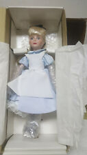 "VINTAGE THE DISNEY COLLECTION ALICE IN WONDERLAND 13"" DOLL /1988 / NEW !!"
