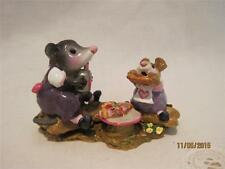 Wee Forest Folk Possum's Pizza Party Store Special - Le Purple & Pink - Wff Box