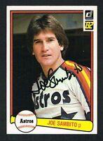Joe Sambito #65 signed autograph auto 1982 Donruss Baseball Trading Card