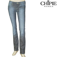 CHIPIE Jeans slim fit used rayé femme modèle PIPER JEAN VINTAGE