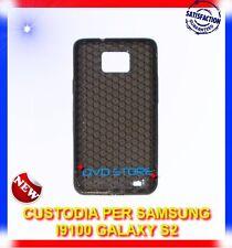 Pellicola+Custodia EXA GRIGIE FUME per Samsung I9100 galaxy s2 plus I9105