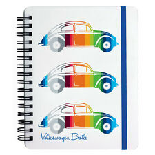 Ufficiale VW BEETLE A6 raccoglitore ad anelli Notepad-Strisce Colorate nota LIBRO