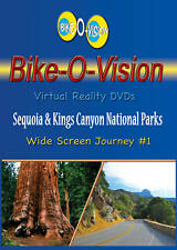 Bike-O-Vision Cycling Video, Sequoia & Kings Canyon Natl Parks, Widescreen DVD