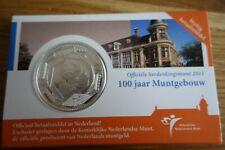 5 Euro Verzilvert! 2011 Nederland 100 Jaar Muntgebouw
