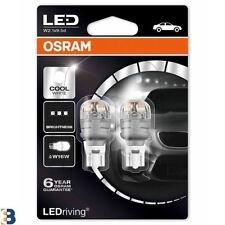 Osram Premium LED W16W 921 Cool White 9213CW-02B 6000K Wedge Bulbs Duobox