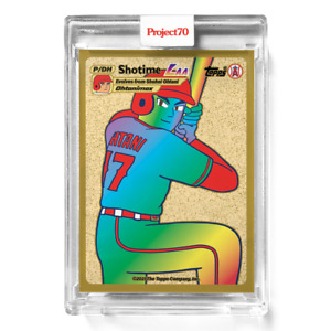Topps Project 70 #547 - Shohei Ohtani by Keith Shore *PRESALE*