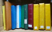 Karton 10x ETB Album inkl Hüllen für viele hundert ETB/große Briefe über 7kg