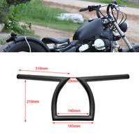 "Motorcycle 7/8"" 22mm Handlebars Z Bar Drag Bars For Yamaha Suzuki Honda Harley"