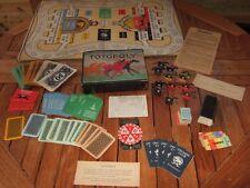 Totopoly. 1940s versione di austerità. Spinner. Board. buone condizioni.