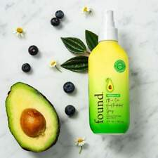 FOUND Avocado Oil All-in One Heat Protectant Spray Protect From Heat  5.oz