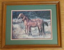 Home Interiors * Horses Picture * 22' X 18.5' Robin Brown