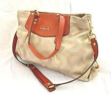 Coach Ashley Dotted Handbag - Red