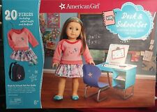 American Girl Desk and School Set