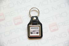 Morris Van Keyring - Minor / 1000 - Leatherette & Chrome Classic Car Keyfob