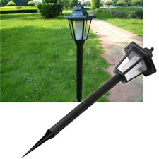 Outdoor Solar Power LED Path Way Wall Landscape Mount Garden Fence Lamps Light