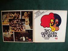 TWO GENTLEMEN OF VERONA, Grandnew Musical, original cast LP gatefold RSO 2394110