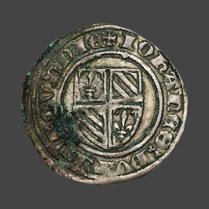 Bourgogne  Jean sans peur (1404-1419) Grand blanc