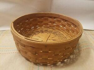 Longaberger round basket