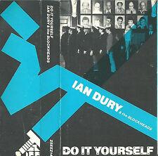Ian Dury The Blockheads Do It Yourself CASSETTE ALBUM Stiff Records Pop Rock
