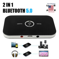 2in1 Bluetooth Transmitter Receiver Wireless A2DP Home TV Stereo Audio Adapters