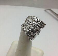 Sterling, Spoon Ring, Cherb,Cupid, Versailles, Gorham, Jewelry, (bin # 118)