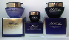 AVON Anew Platinum Define & Contour : Day Cream + Night Cream + Eye Cream SET !