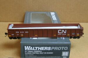 WALTHERS 920-105505 HO ICG 53' Thrall Gondola #246583