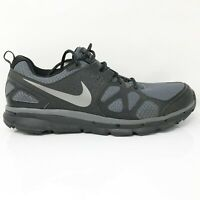 Nike Mens Flex Trail 538548-001 Gray Black Running Shoes Lace Up Low Top Size 13