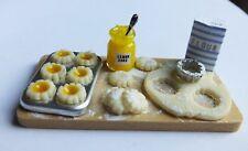 Casa De Muñecas Miniaturas Escala 1:12 en la fabricación de Limón Tartas