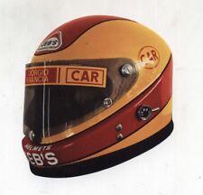 Adesivo Formula 1 CASCO GIORGIO FRANCIA Osella Alfa Romeo sticker F1 anni 80