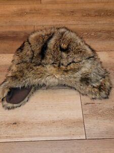 Faux Fur Bear Trapper Winter Hat Fleece Lined Gap Kids Size L / XL