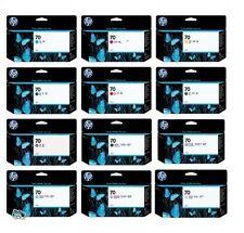 12 Tinte HP DesignJet Z3200 / Nr 70 C9448A C9449A C9451A-C9459A CD951A Cartridge