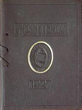 1927 PRESBYTERIAN COLLEGE COMMENCEMENT INVITATION/PROGRAM (CLINTON, SC