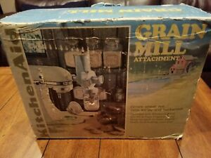 Kitchen Aid Hobart Grain Mill Attachment - Complete - Model GM - Free Shipping!
