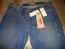 """Authentic Levi's 711 Skinny Jeans Painted Clouds SZ 32""""Wx32""""L [ACTUAL 34""""WX30""""L]"""