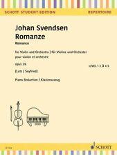 Romance Op. 26 Violin and Piano String Solo Book New Schott 049046131