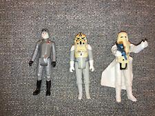 Vintage Star Wars Figures - AT AT Commander, AT AT Driver, Imperial Stormtrooper