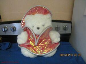 2001 DAYTON-HUDSON MRS SANTA BEAR MISSION PLANET CHRISTMAS
