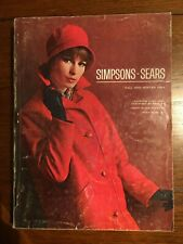 1964 Simpsons Sears Fall & Winter Catalogue
