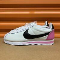 Nike Classic Cortez Premium White/Black-China Rose Women's Shoes Sz 7 905614 106