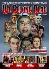 WE BELONG DEAD Magazine HAMMER SPECIAL ISSUE Christopher Lee Cushing DRACULA New