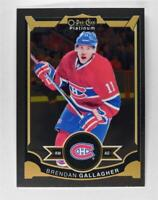 2015-16 O-Pee-Chee Platinum #91 Brendan Gallagher - NM-MT