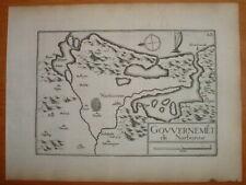 TAS 109 TASSIN 1634 Languedoc - ANTIQUE PLAN GOUVERNEMENT de NARBONNE