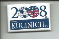 "Rare (2008) Pin: ""KUCINICH 2008 www.Kucinish.us"" (NH Presidential Primary)"