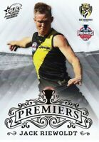 ✺New✺ 2019 RICHMOND TIGERS AFL Premiers Card JACK RIEWOLDT - 7 of 25