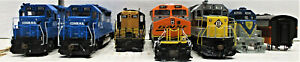 ATHEARN DIESEL ENGINE DUMMIES & SHELLS (PART ONLY) HO SCALE 7 LOT