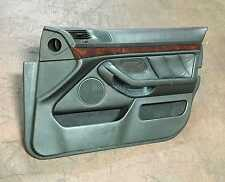 BMW E39 540i Black Right Front Passengers Door Panel Leather Trim 1997-2003