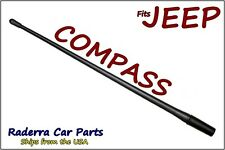"FITS: 2007-2017 Jeep Compass - 13"" SHORT Custom Flexible Rubber Antenna Mast"