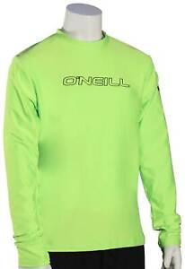 O'Neill Kid's Basic Skins LS Surf Shirt - Lime - New