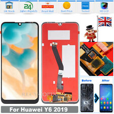 For Huawei Y6 2019 MRD-LX1 LCD Screen Replacement Touch Digitizer Display Black